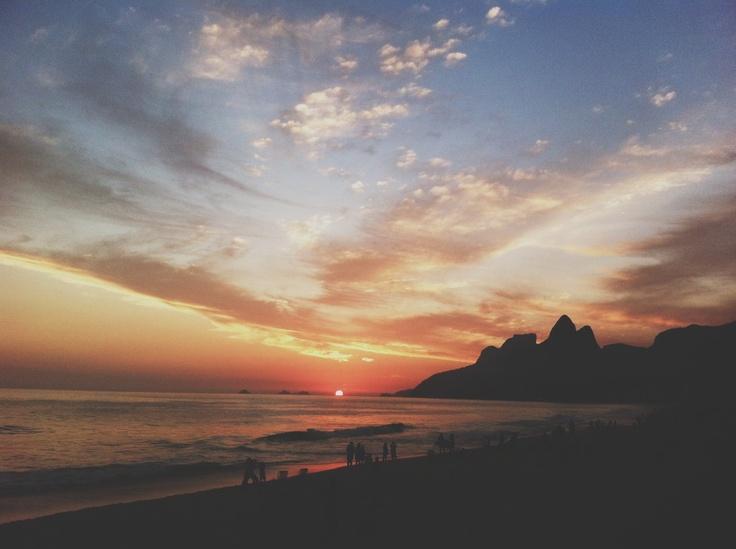 Arpoador, Rio de Janeiro.
