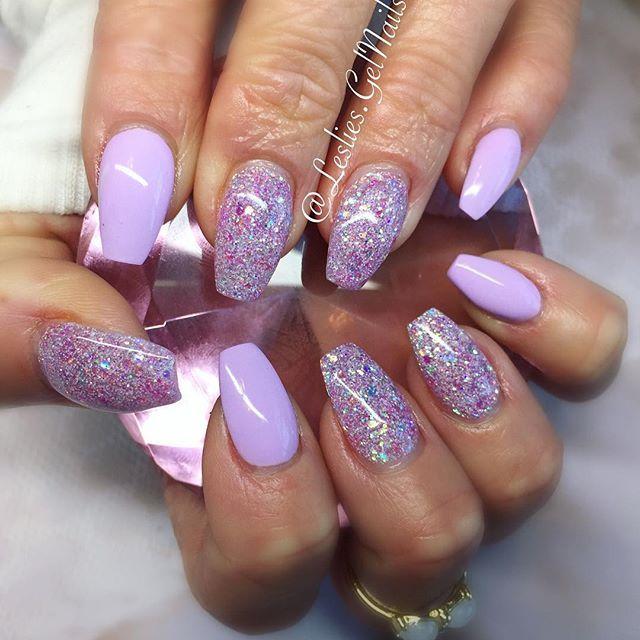 Pastelz Purple Nails In 2018 Glitter