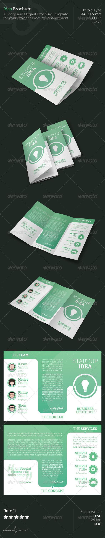 Idea - Trifold Brochure - Corporate Brochures