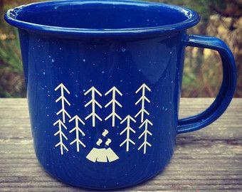 Enamelware mug | Etsy