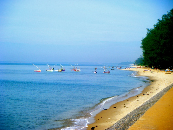 Coast outside Maputo, Mozambique