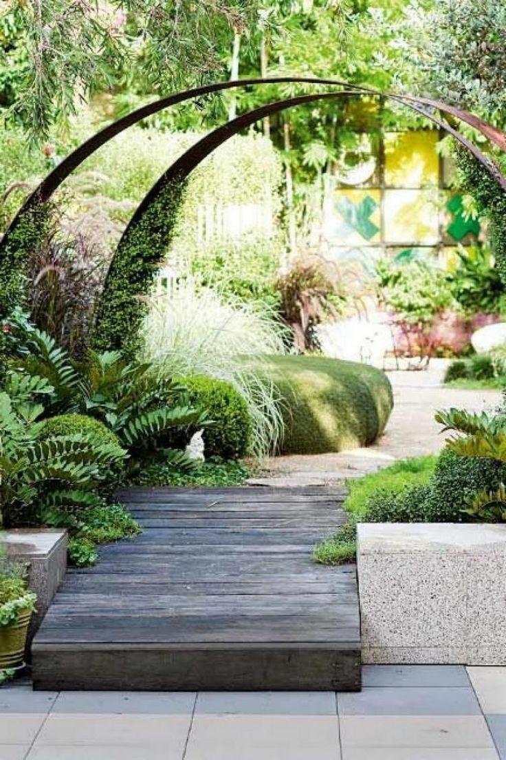 6 Stunning Contemporary Garden Ideas #moderngarden…