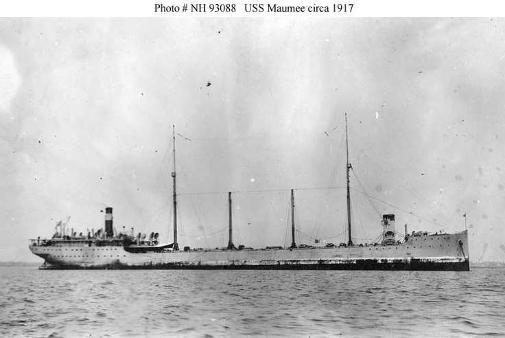 WW1 era US Navy tanker