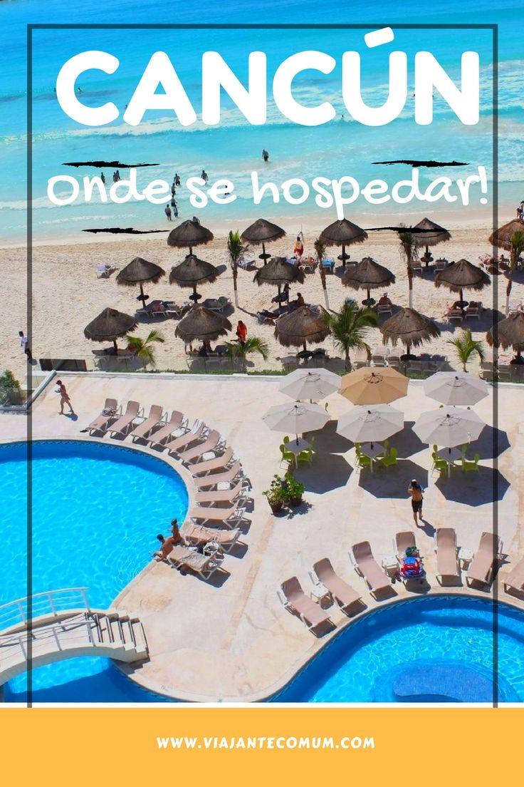 Resort em Cancún de frente pro mar e super bem localizado.