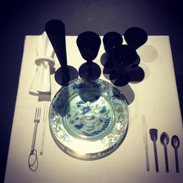 Love this tableware by droog at Salone del Mobile in Milan. For more details see the post below.           Masterpieces - Rijksmuseum and Droog launched several new innovative products during @salondelmobile