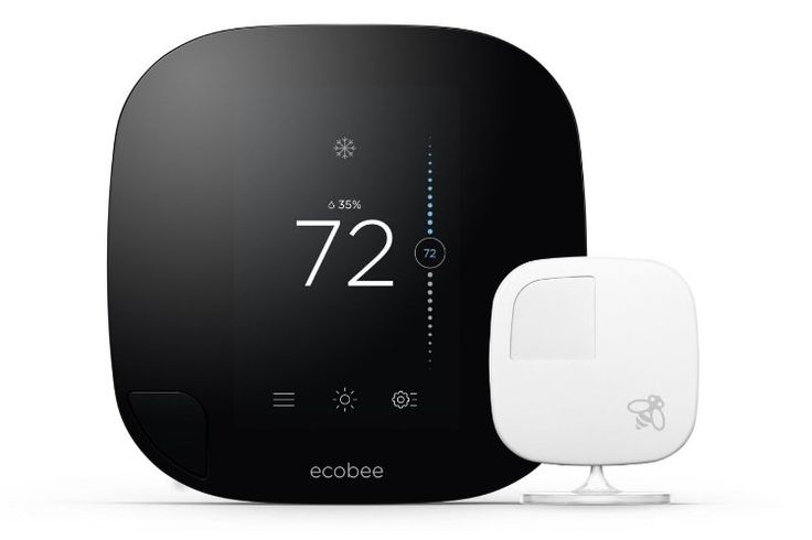 Ecobee3 Wi-Fi Thermostat with Remote Sensor | Man of Many