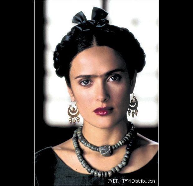 Salma Hayek nel ruolo Frida Kahlo