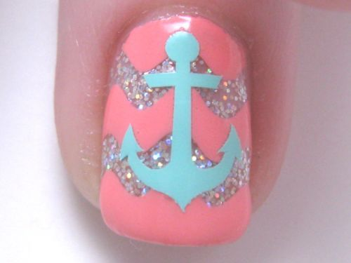 Anchor Sailing Fingernail Art Decal Stickers Nail Vinyls | eBay