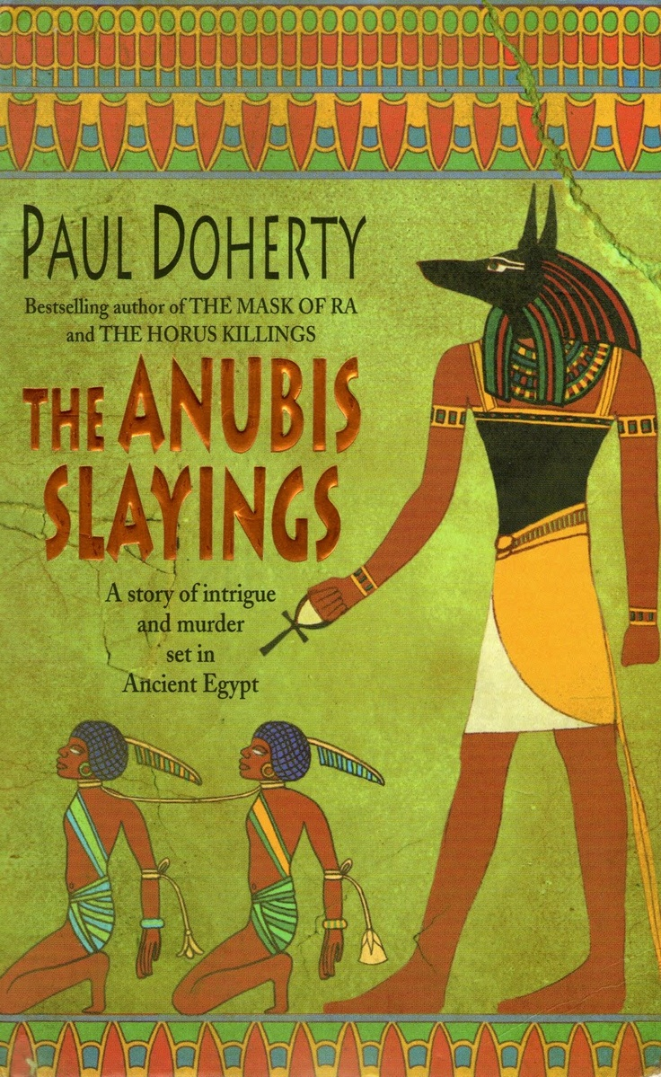 Ancient Egypt Murder Mystery Book By Author Paul Doherty