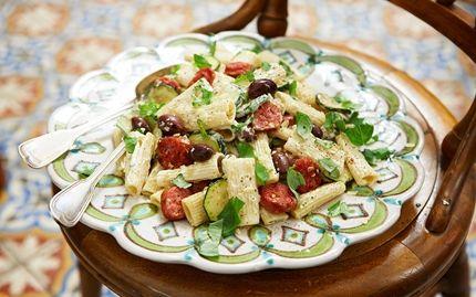Rigatoni med salsiccia