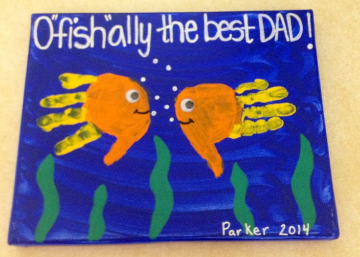 "O""fish""ally the Best Dad"