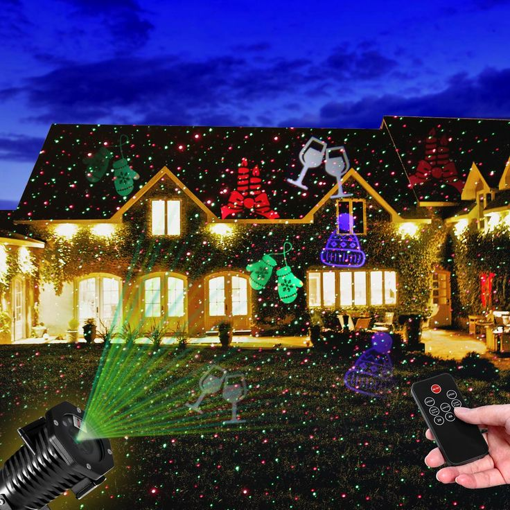 The 25 best xmas light projector ideas on pinterest christmas new year light projector waterproof outdoor light red and green star projector including 10 slides with aloadofball Gallery