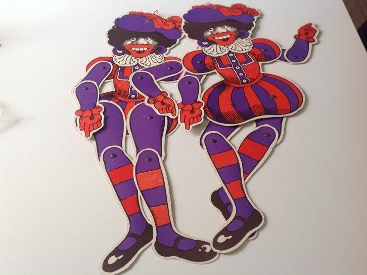 De Gruyter  (Snoepje vd week)   Zwarte Piet trekpop