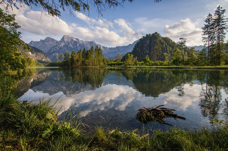 Almsee Austria - I shot this picture yesterday at Almsee in upper Austria. I arrived there just before sunset after a 15km bike trip. It's an absolute dream location!  The settings were 1/125sec//f7.1//ISO100