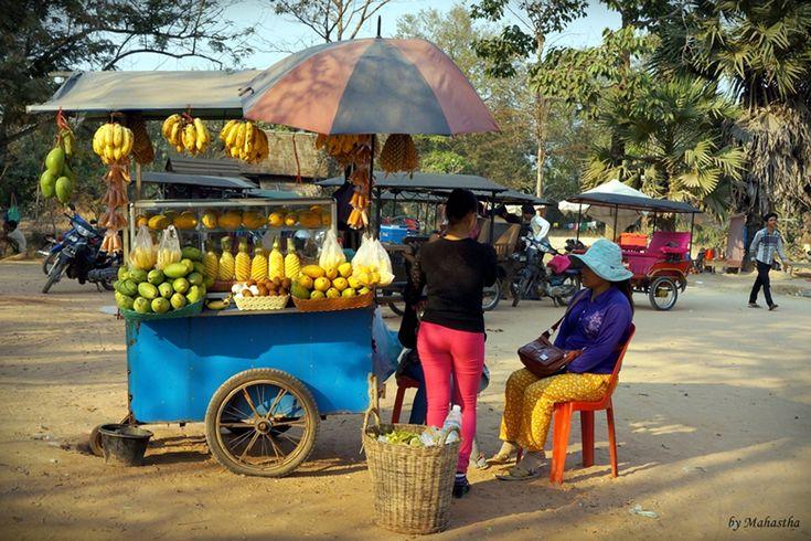 캄보디아 과일