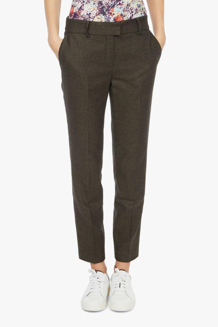 Pantalon tailleur chevron - Valentine Gauthier X Monoprix