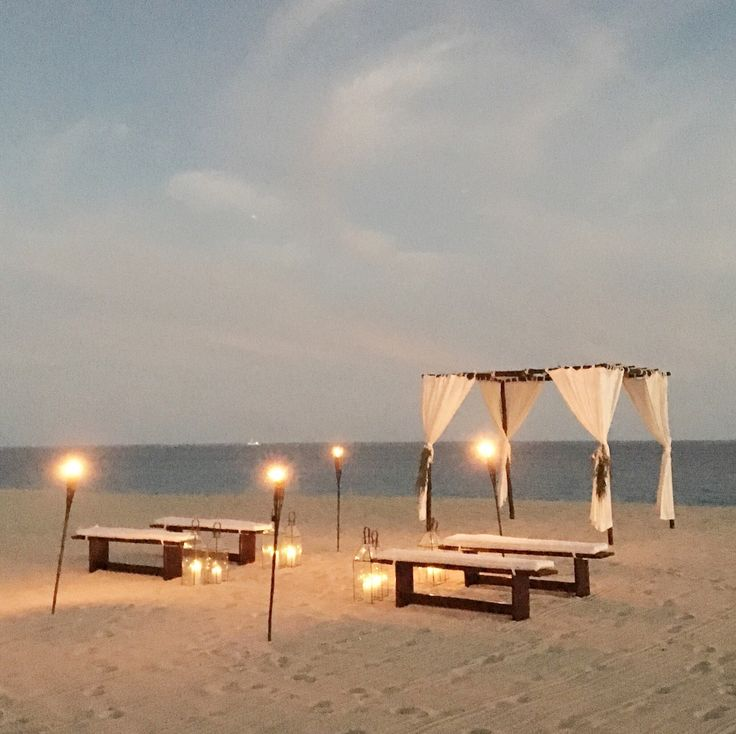 Best 25 Beach Wedding Setup Ideas On Pinterest
