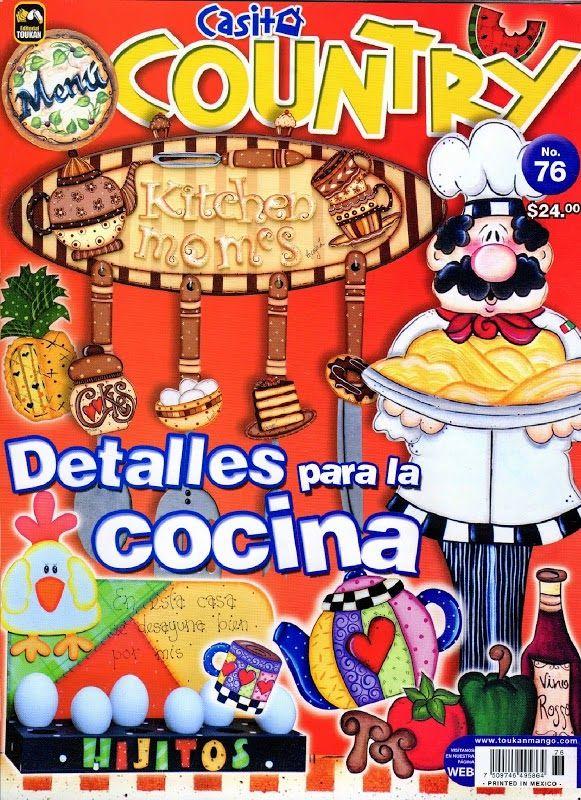 Revistas de manualidades gratis: revista manualidades para la cocina