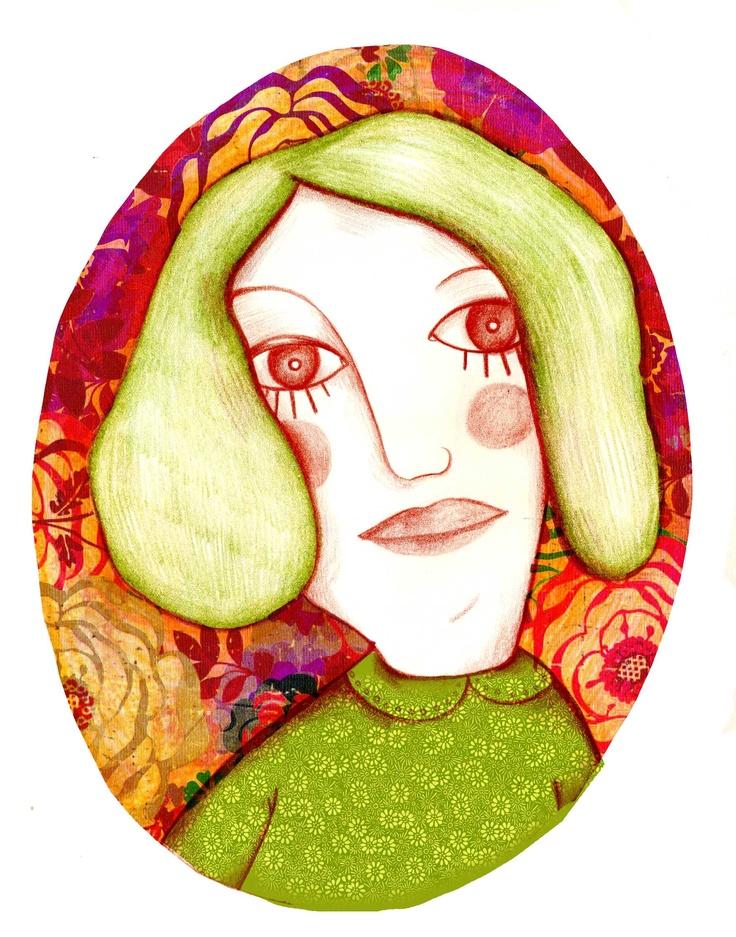 Justine - Olivia Paroldi Illustration  http://lolive.ultra-book.com/book
