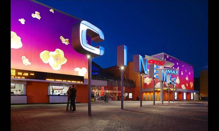Channel Letters, Universal Studios AMC Cinema Graphics, Universal Studios Hollywood, Sussman/Prejza & Company #SEGD