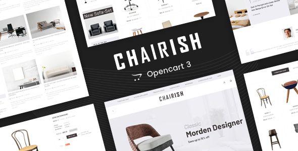 Chairish - Multipurpose OpenCart 3 Theme | Fashion | Themes