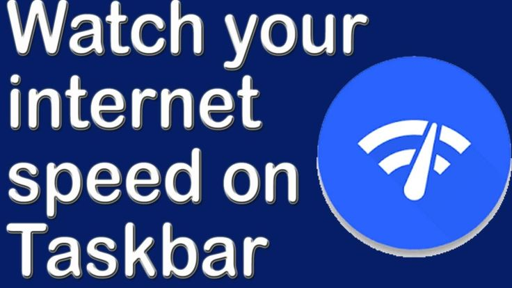how to monitor your internet speed on your taskbar ✅   tip by take lectu...