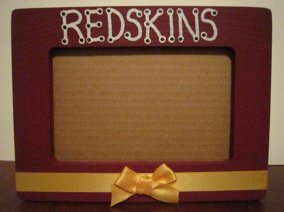 Redskins picture frame