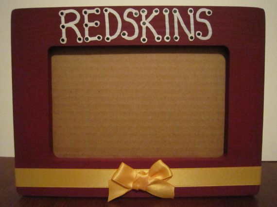 Redskins picture frame