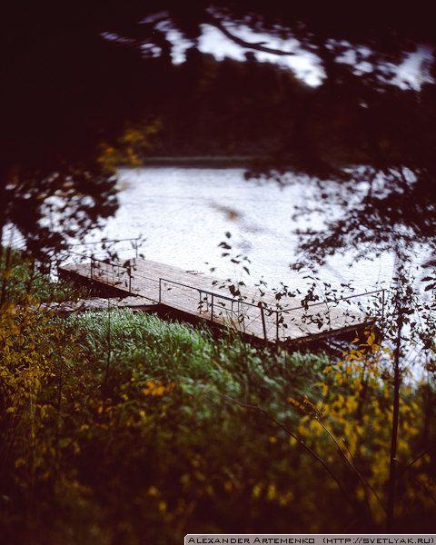 Осенний понтон