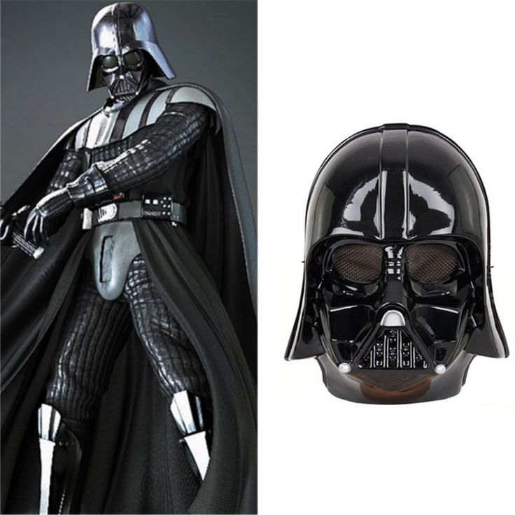 Star Wars Darth Vader Halloween Mask Deluxe Star Wars Maske Superhero Theme Party Supply Costume Toy 24.5*19.5CM Black White //Price: $9.49 & FREE Shipping //     #starwars #swco #starwarsfan #starwarsday #starwarscosplay #starwarstoyfigs #starwarsfigures #starwarsdaily #starwarslego #starwarstoys #starwarsgate #starwarsmovie