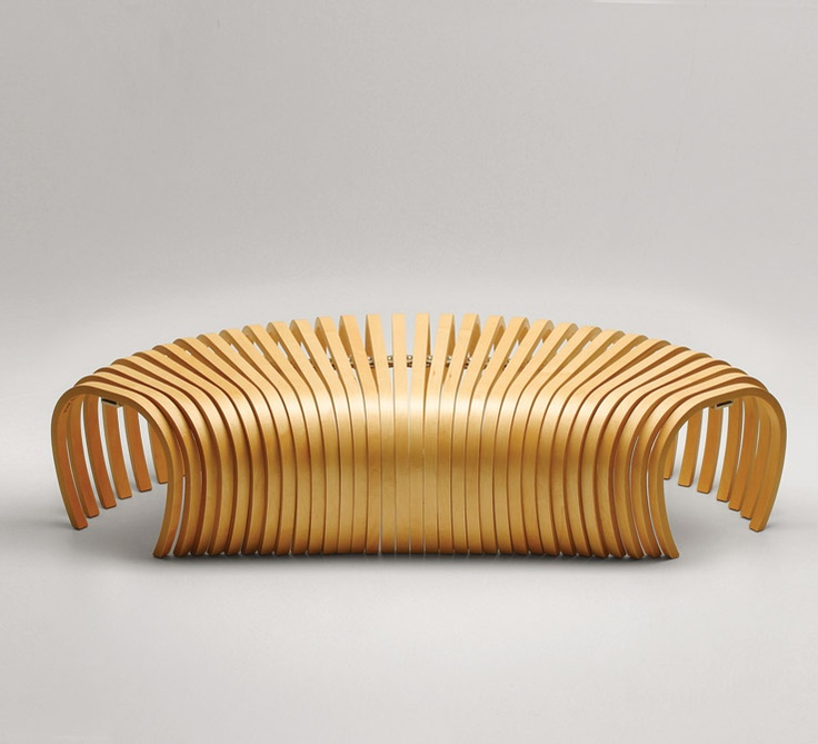 Ribs Bench   Adjustable Seating   Design By Them./Repinned Via Decorget