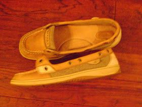 Cleaning sperrys- don't know if it will work but it can't make them any worse.