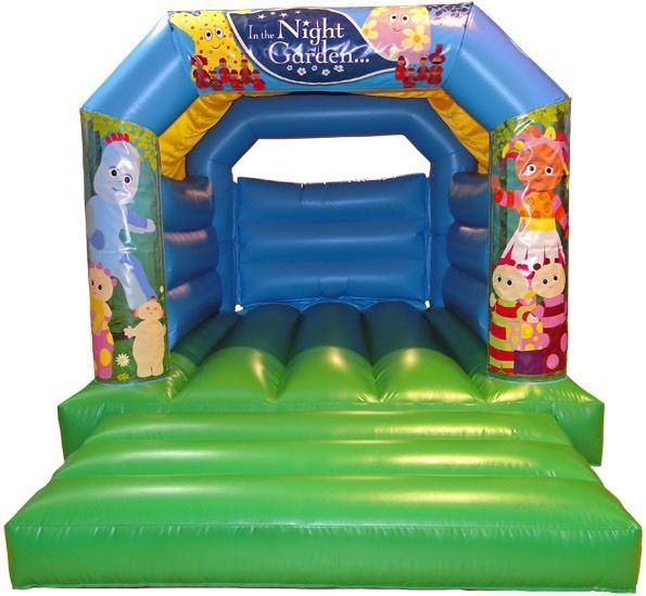 In The Night Garden Bouncy Castle HIRE. DARTFORD NW Kent South east London