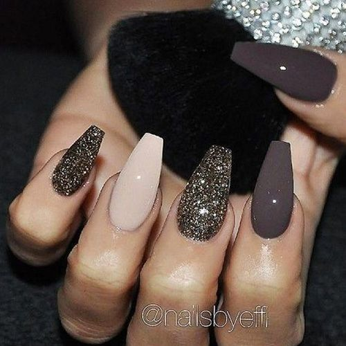 Best Glitter Nails - 44 Nails That Sparkle In The Light! - Nail Art HQ