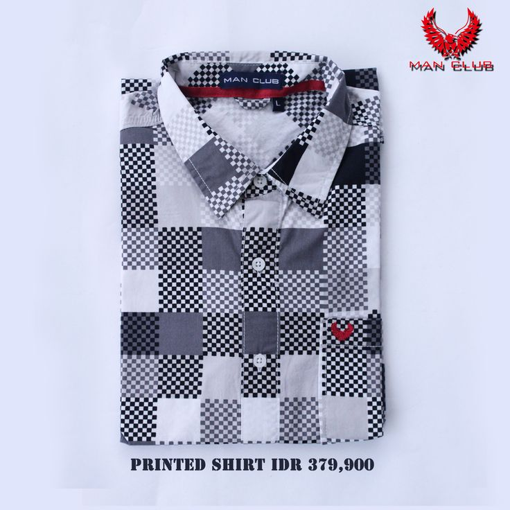 Style up with a pattern printed shirt. Price: IDR 379,900