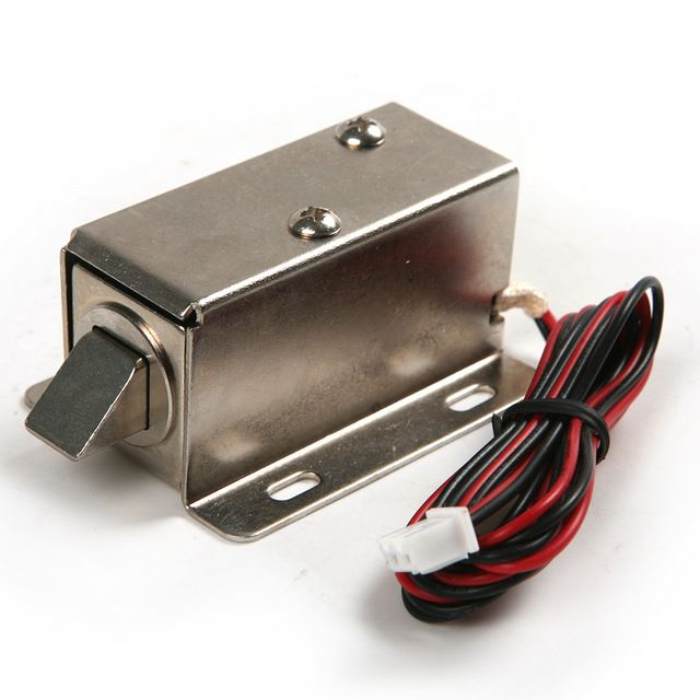 12v Electronic Latch Lock Catch Door Gate Electric Release Assembly Solenoid Big Electric Lock Review Gate Locks Electric Lock Door Gate