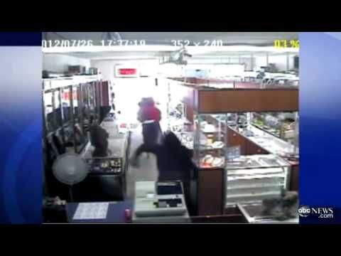 65-year-old Store Owner Shoots at Would-Be Jewelry Store Robbers in Garden Grove, CA.  It makes me happy not only because the Good Guys win, but the Bad Guys look so damn silly!