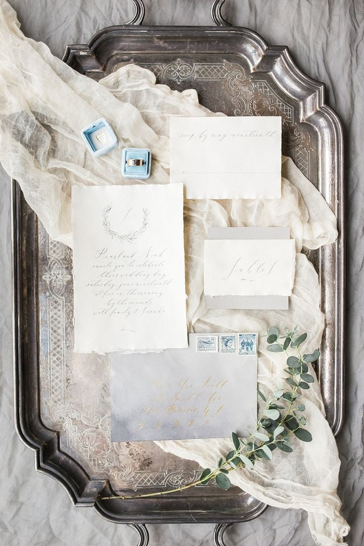 European-inspired wedding invitation suite: Photography : Booth Photographics - http://www.boothphotographics.com/: