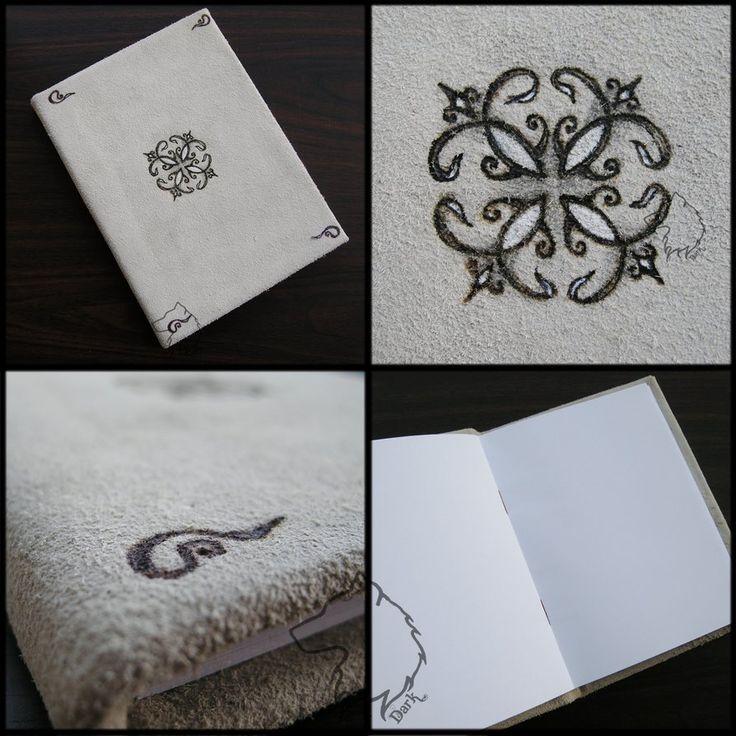 Ornamentbook - handmade scrapbook by Dark-Lioncourt.deviantart.com on @DeviantArt