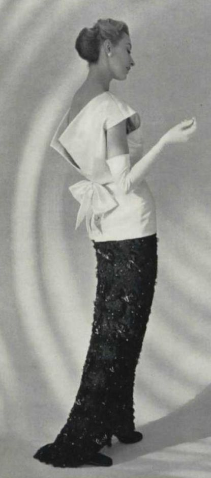 177 best images about Evening Wear 1950's & 1960's on ...