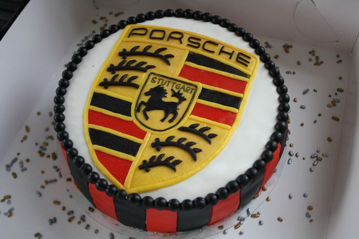 20 Best Images About Porsche Cakes On Pinterest Logos