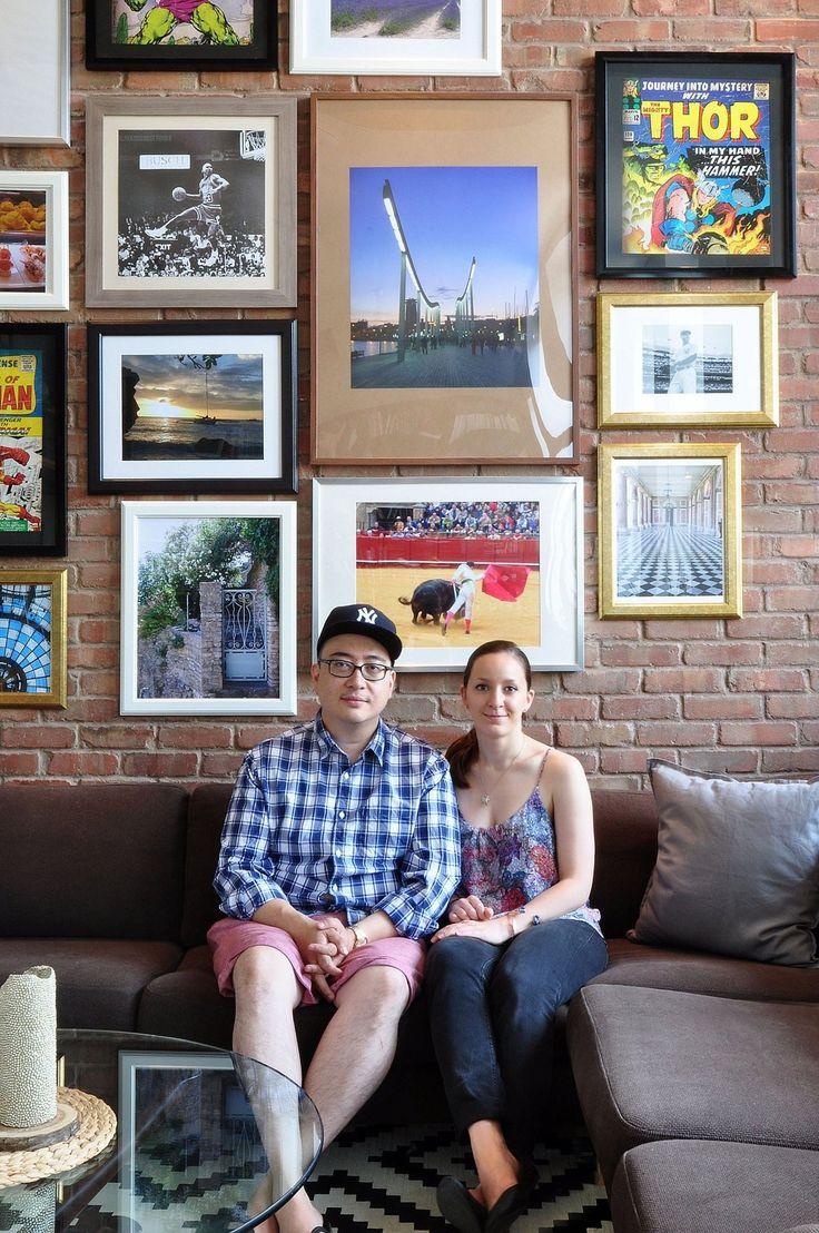 Eloïse & Jose's Filled-with-Kijiji-Finds Montreal Loft