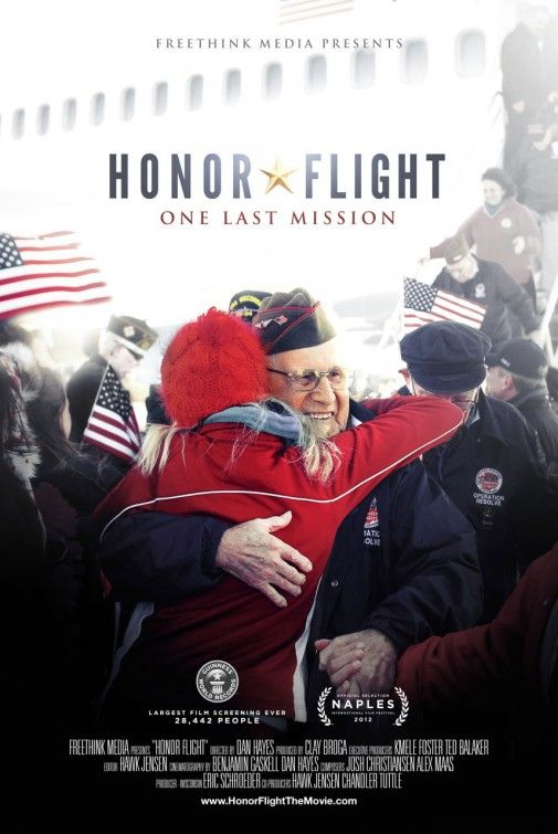 Honor Flight - Please take a few moments to watch this trailer. We must remember the freedoms we enjoy today did not come freely. Thank you to all those that fought and continue to fight for our freedoms!