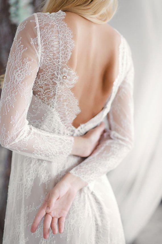 Hochzeitskleid Boho Hochzeitskleid romantische von AnnaSkoblikova