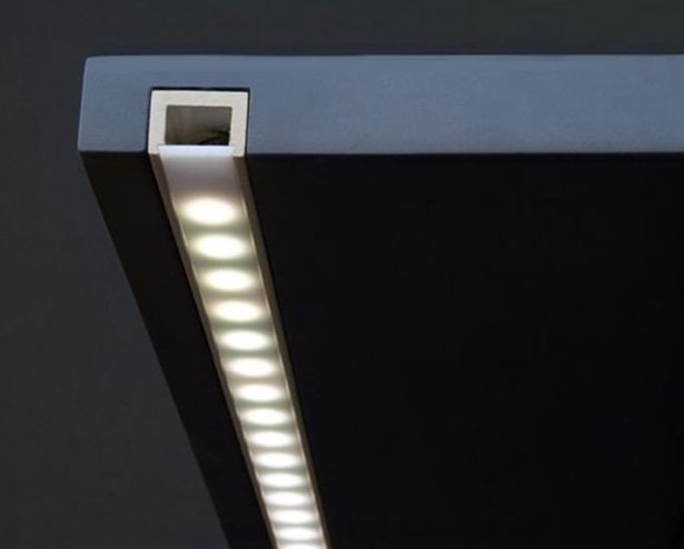 Aluminum LED Strip Lights Profile/Channel Track/Housing/Mounting Profile/Shapes/Linear Profile, PDS Profile 01 ES-PDS-01 Silver - Free Shipping$4.03-wholesale cheap price at ledoes.com