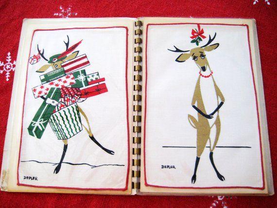 Reindeer Christmas Napkins