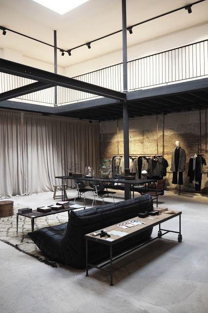 ATELIER RUE VERTE , le blog: Anvers / St Vincents, un concept-store au look industriel /