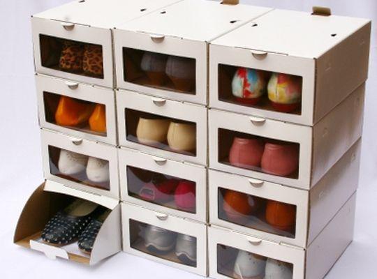 Cajas para zapatos EnOrden® - Pack 12 unidades