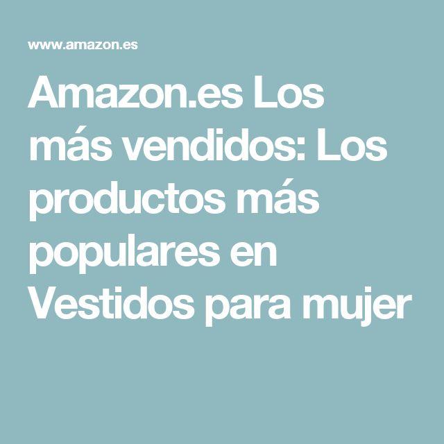 Amazon.es Los más vendidos: Los productos más populares en Vestidos para mujer