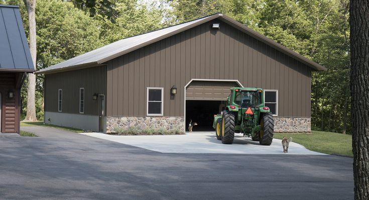 516 best hobby garages images on pinterest morton for Barn home builders indiana